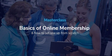 Basics of Setting up a Membership or Online Community tickets
