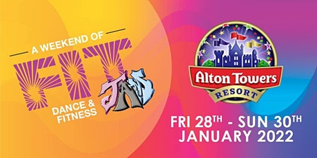 Fit JAM 2022 - Alton Towers Resort tickets