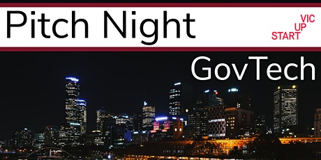 Pitch Night: GovTech tickets