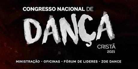 Congresso Nacional de Dança Cristã - 2021 ingressos