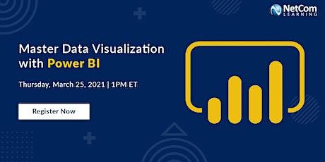 Webinar - Master Data Visualization with Power BI tickets