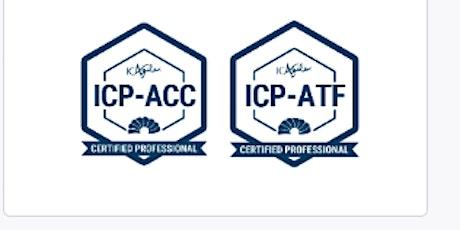 Agile Coaching Intensive™ (ICP-ATF / ICP-ACC) (Virtual) boletos
