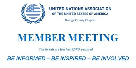 UNA-OC BOARD and MEMBERS MEETING tickets