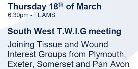 South West TWIG - Scarring in a nutshell! tickets