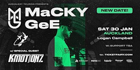 Macky Gee | Auckland tickets