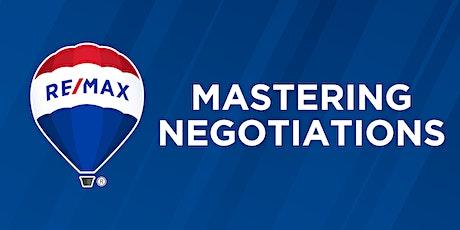 Mastering Negotiations tickets