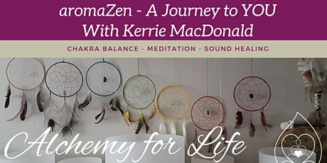 Morning aromaZen Full Moon Chakra Balance Meditation & Sound Healing tickets