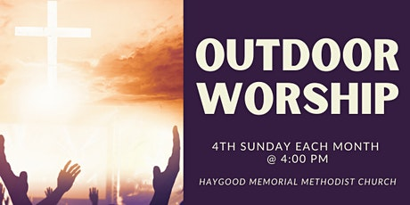 Fourth Sunday Outdoor Worship tickets