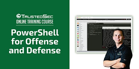 PowerShell for Offense and Defense - Online Training tickets