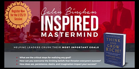 GB Inspired Think and Grow Rich Mastermind (10-week Group) tickets