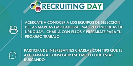 Recruiting Open Day 2021 entradas
