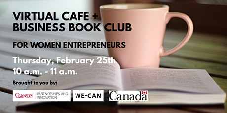 Virtual Cafe + Business Book Club for Women Entrepreneurs tickets