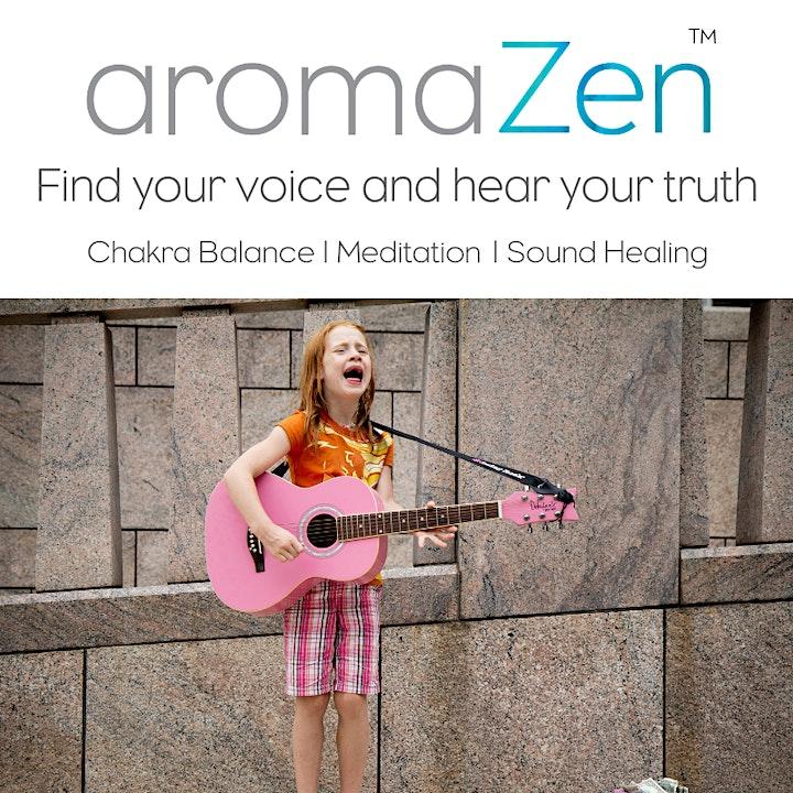 aromaZen Chakra Balance -  Meditation - Sound Healing image
