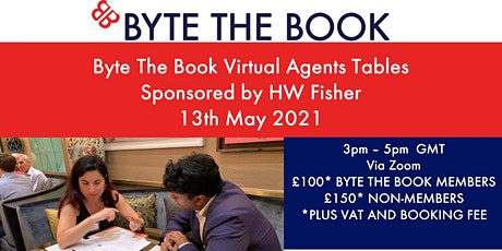 Agent Tables (May 2021) Sponsored by HW Fisher tickets