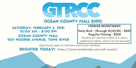 Ocean County Mall Expo 2021 tickets