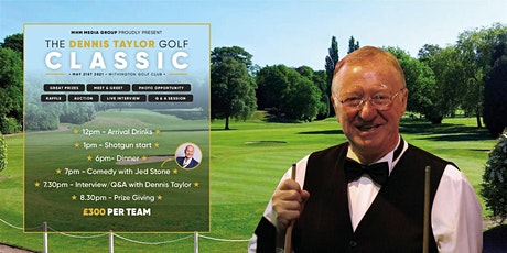 The Dennis Taylor Golf Classic tickets