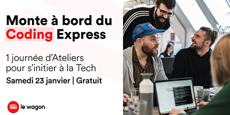 Le Wagon Coding Express billets