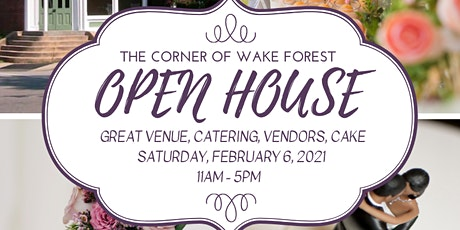 2021 Winter Open House tickets