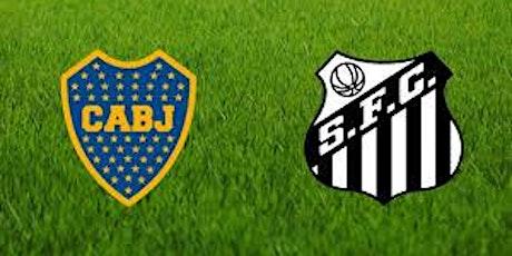 TV/VIVO.-Santos v Boca Juniors E.n Viv y E.n Directo ver Partido online entradas