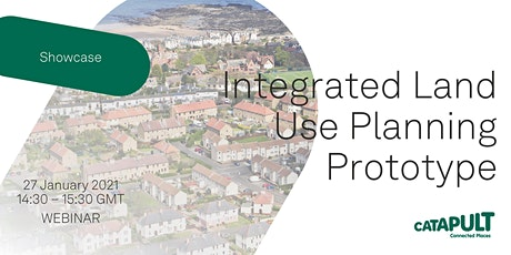 Integrated Land Use Planning Prototype Webinar tickets