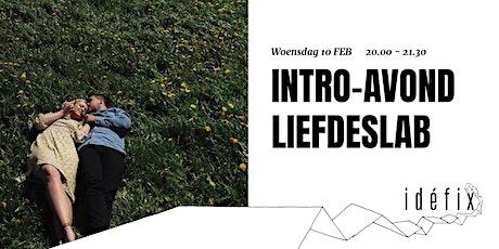 Intro-avond Liefdeslab 10 FEB tickets