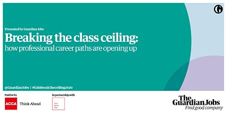 Breaking the class ceiling: how professional career paths are opening up tickets