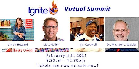 IgniteNC 2021 Virtual Summit tickets