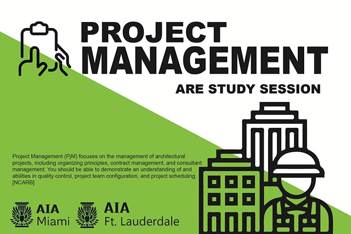 ARE Study Session - Project Management image