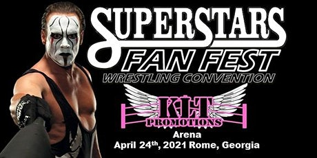 Superstars Fan Fest Wrestling Convention tickets