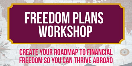 Freedom Plans Workshop tickets