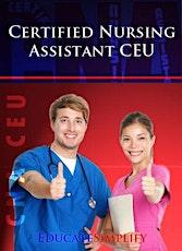 CNA Renewal CEU tickets