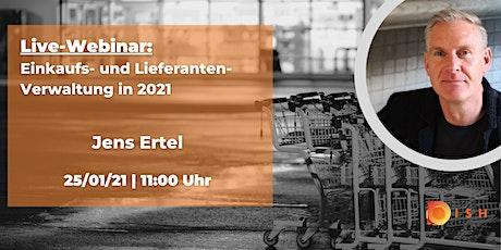 Einkaufs- und Lieferanten-Verwaltung in 2021 Tickets