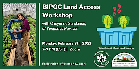 Land Access for BIPOC Farmers tickets