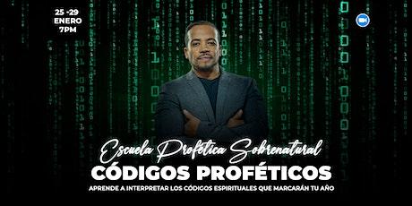 Escuela profética 2021 - Códigos Proféticos boletos