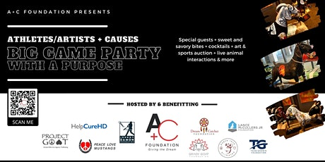 Athletes/Artists + Causes: Big Game Party With a Purpose tickets