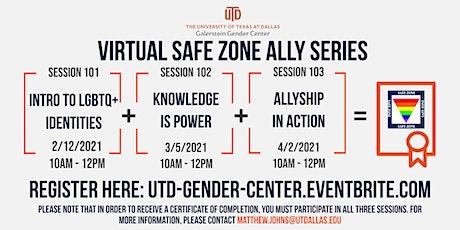 SAFE ZONE Ally Training tickets