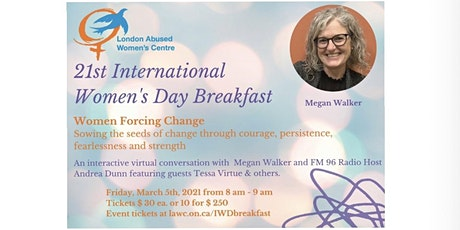 21st Annual International Women's Day Breakfast tickets