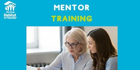 Mentor Training tickets