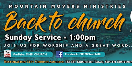Copy of MMM Church Service  Booking (Plus 3 COVID Questions  Below) tickets