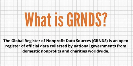 """What is GRNDS?"" Webinar (Feb. 16, 2021) tickets"
