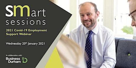 Webinar: 2021 Covid-19 Employment Support tickets