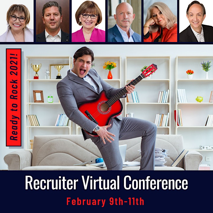 3-Day Recruiter Virtual Conference: Ready to Rock 2021! image