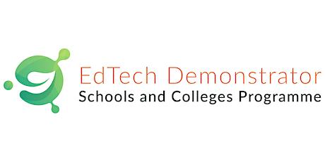 National Edtech Demonstrator Programme and Apple Seminar tickets