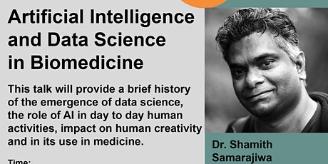 Artificial Intelligence and Data Science in Biomedicine tickets