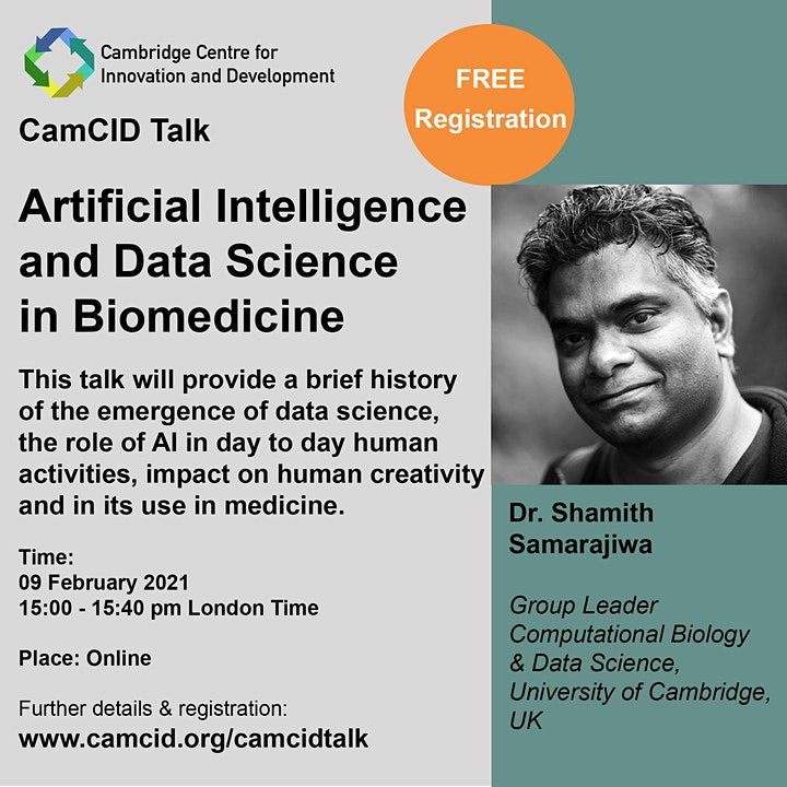 Artificial Intelligence and Data Science in Biomedicine image