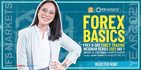 Free Six-Day Forex Trading Webinar Series - Day 1 Forex Basics Class tickets