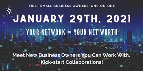January Small Business Owners One-On-One tickets