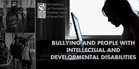 El bullying con personas con IDD -  Sesión en español entradas