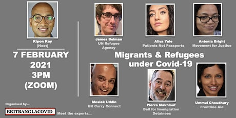 Migrants and Refugees under Covid tickets