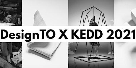 DesignTO X KEDD 2021 tickets